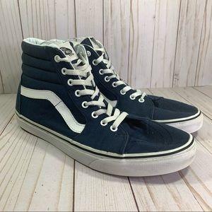 Vans Sk8 Hi Top Navy Blue Sneakers High Top